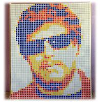Кубик Рубика для картин 6шт белый (от 150шт)